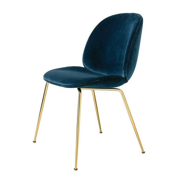 beetle chair blue